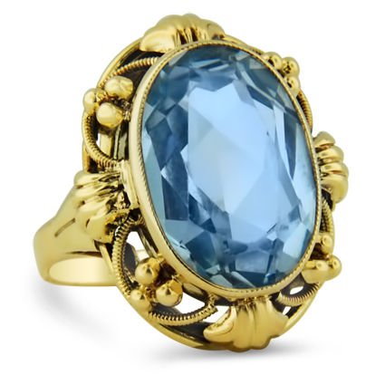 Retro Spinel Vintage Ring