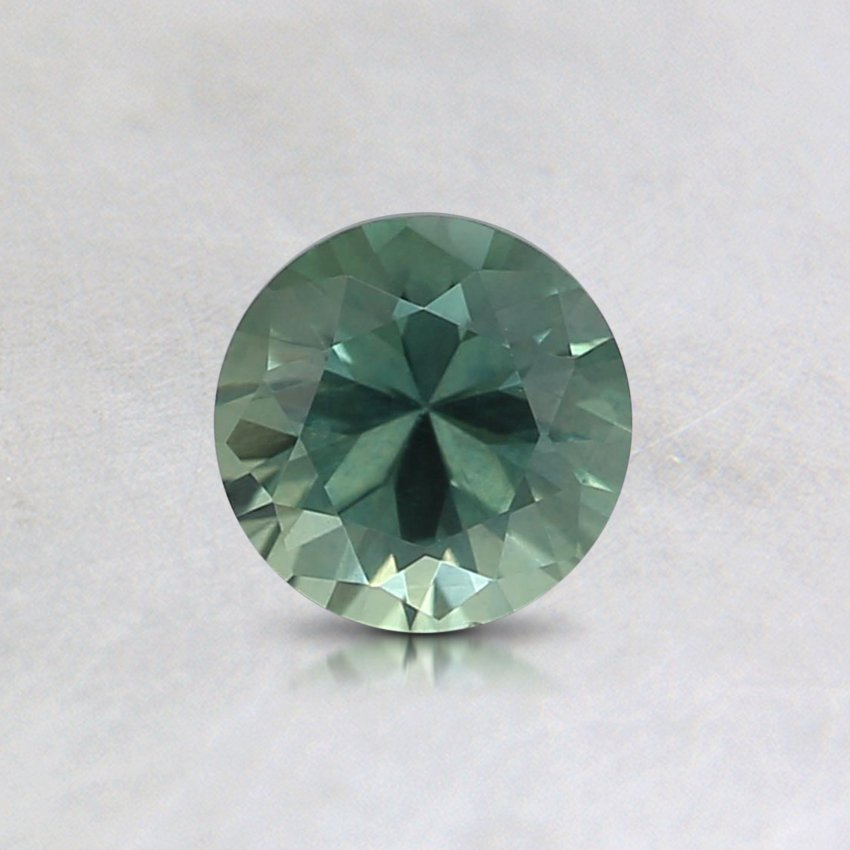 5mm Montana Teal Round Sapphire