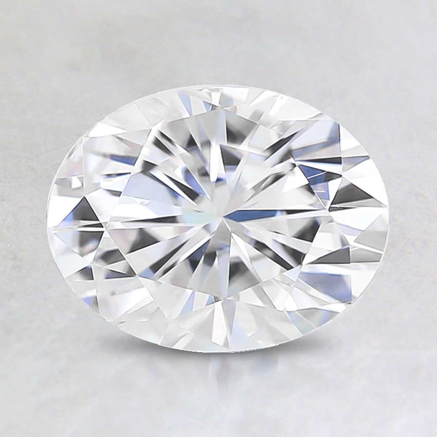 8x6mm Premium Oval Moissanite