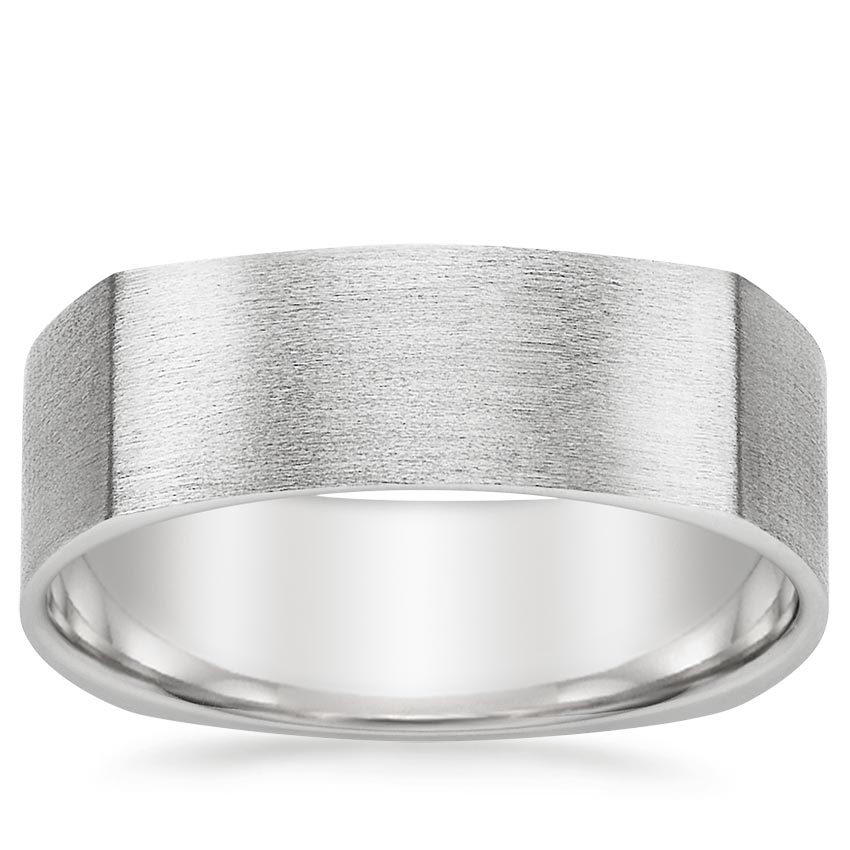 Forte Wedding Ring in Platinum