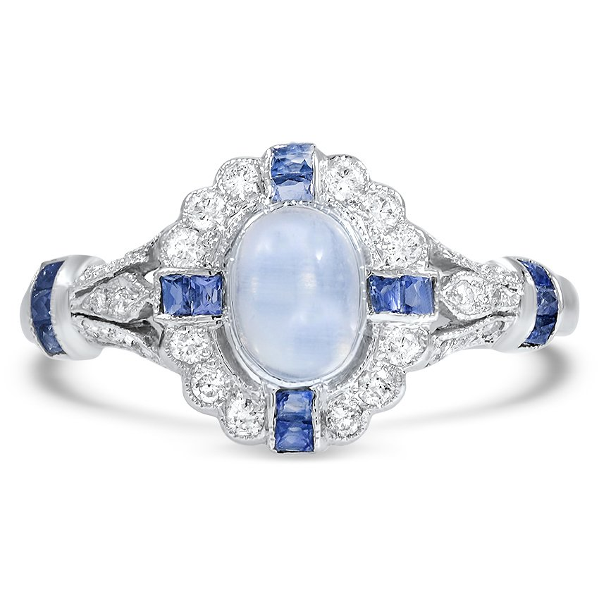 Edwardian Reproduction Moonstone Vintage Ring