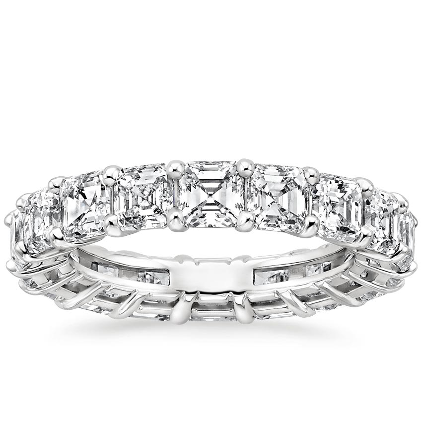 Asscher Eternity Diamond Ring (5 ct. tw.)