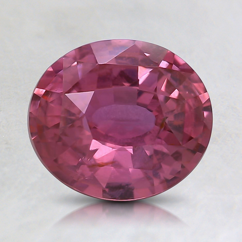 7.8x6.8mm Pink Oval Sapphire