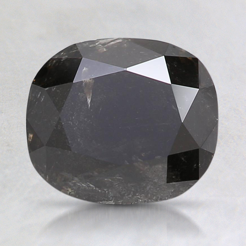 1.96 Ct. Fancy Black Cushion Diamond