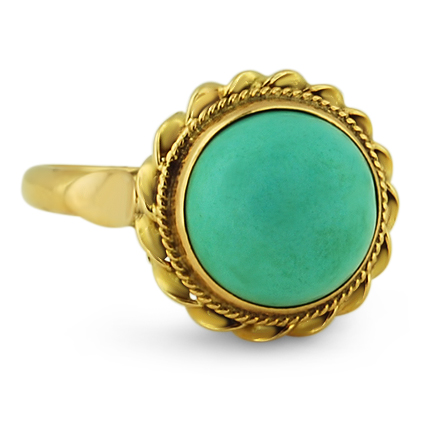 Art Deco Other gemstones Vintage Ring