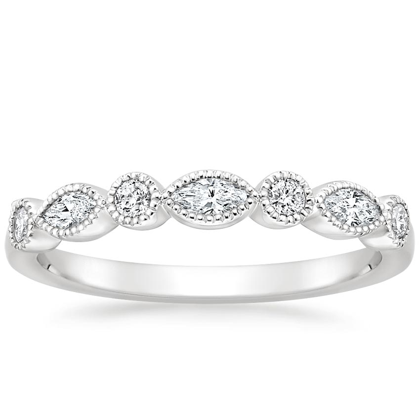 Rosalie Diamond Ring (1/3 ct. tw.) in 18K White Gold