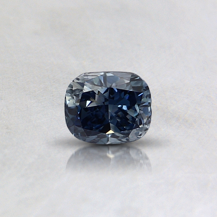 0.30 Ct. Fancy Blue Cushion Lab Created Diamond