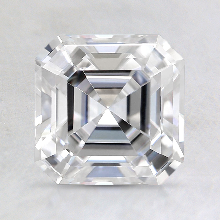 7mm Super Premium Asscher Moissanite