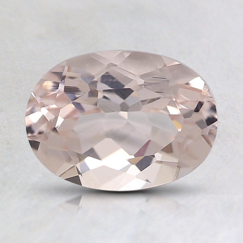 8x6mm Peach Oval Morganite