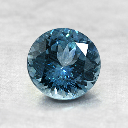 6.3mm Montana Teal Round Sapphire