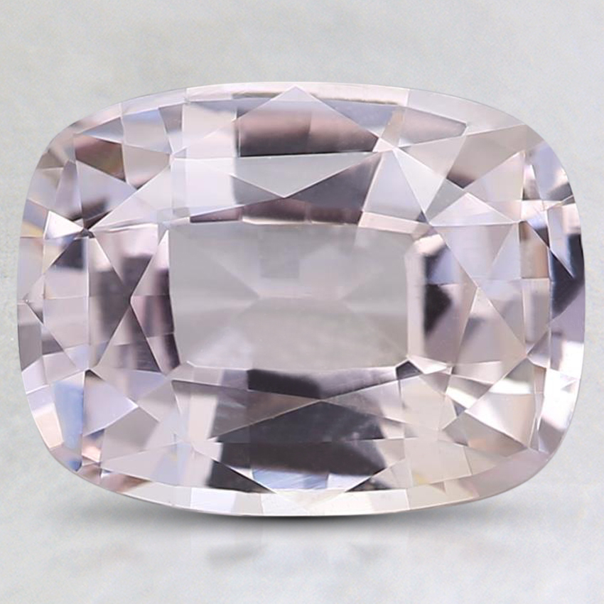 9.6x7.4mm Unheated Peach Cushion Sapphire