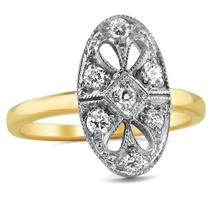 The Coronia Ring, top view