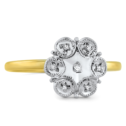 The Ziva Ring, top view