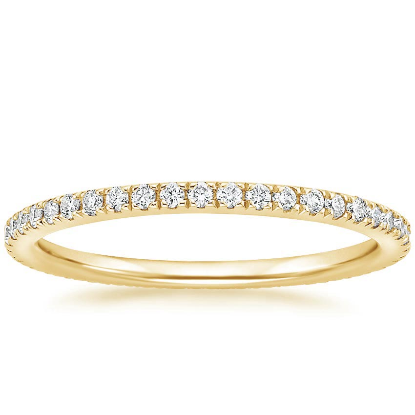 Yellow Gold Ballad Eternity Diamond Ring (1/3 ct. tw.)