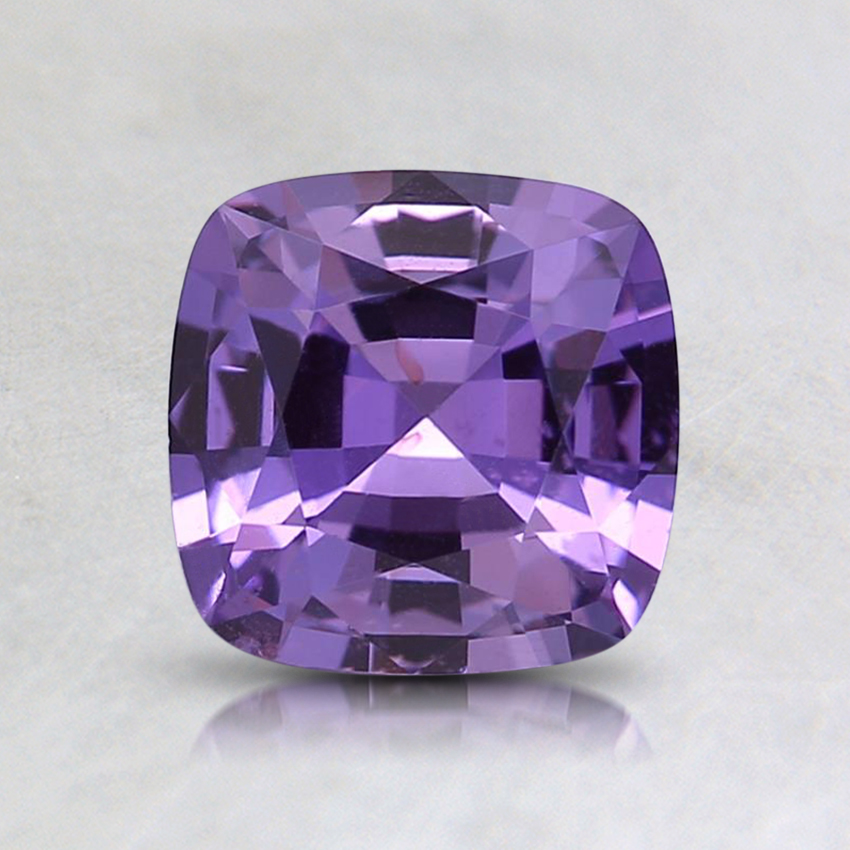 6.1x6mm Purple Cushion Sapphire