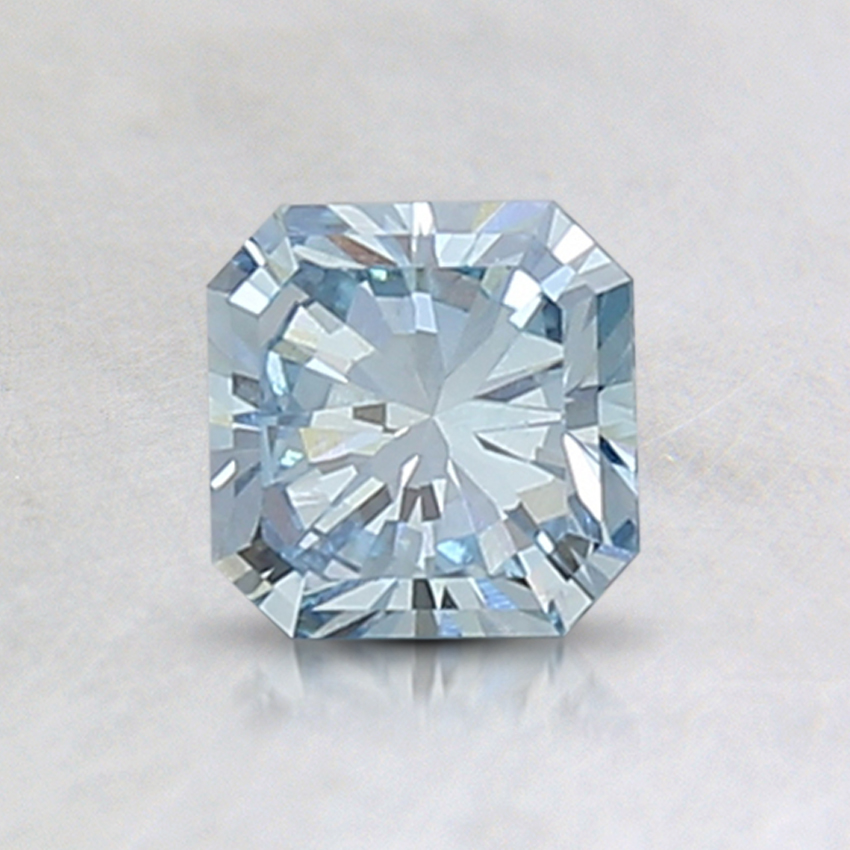 0.74 Ct. Fancy Blue Radiant Lab Created Diamond