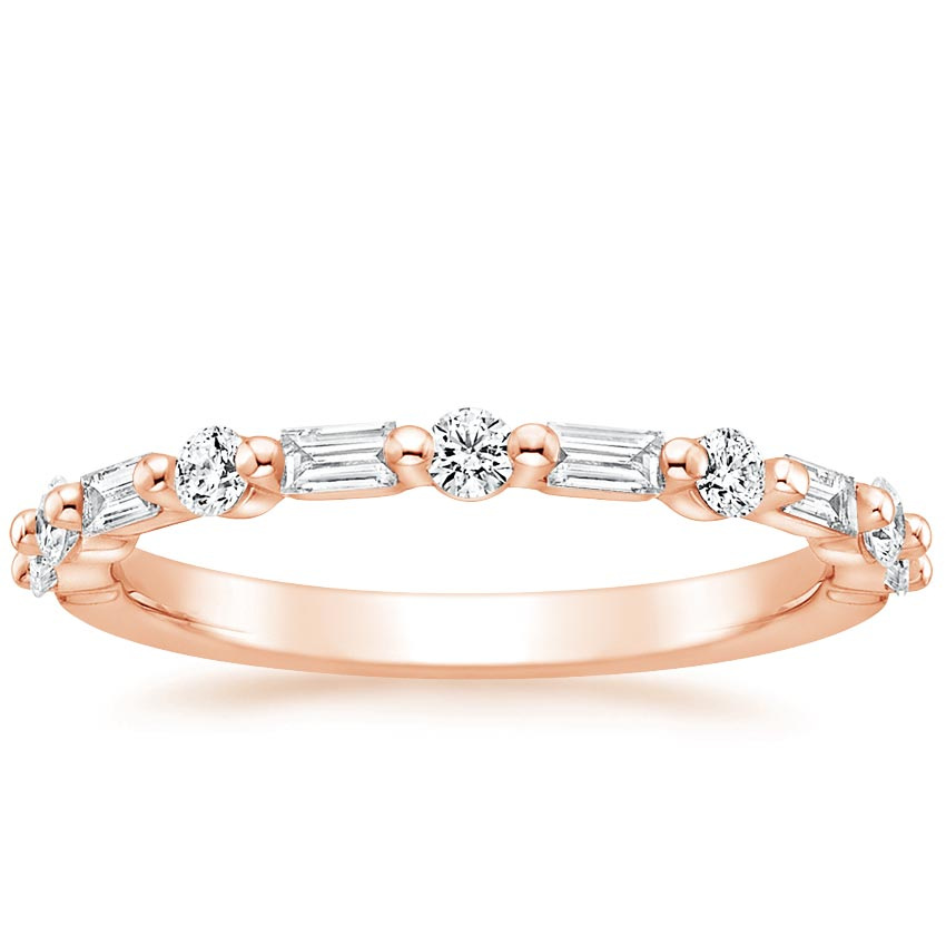 Rose Gold Harper Diamond Ring (1/3 ct. tw.)