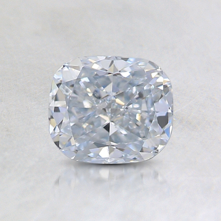 0.74 Ct. Light Blue Cushion Lab Created Diamond
