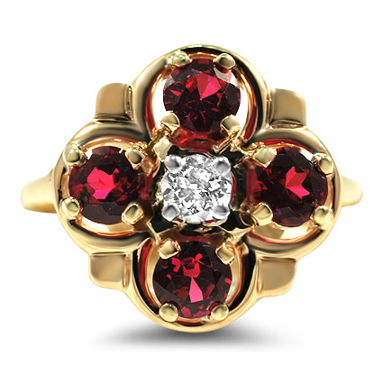 The Julienas Ring, top view