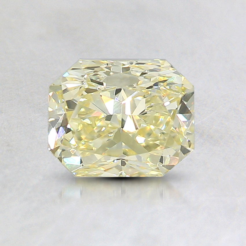 0.91 Ct. Natural Fancy Yellow Radiant Diamond