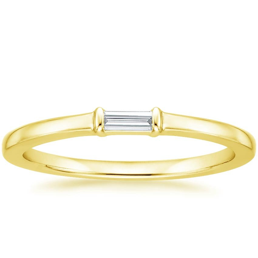 Yellow Gold Darby Diamond Ring