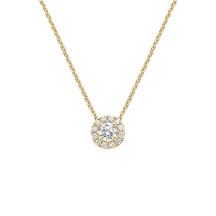 Top Twenty Anniversary Gifts - DIAMOND HALO PENDANT