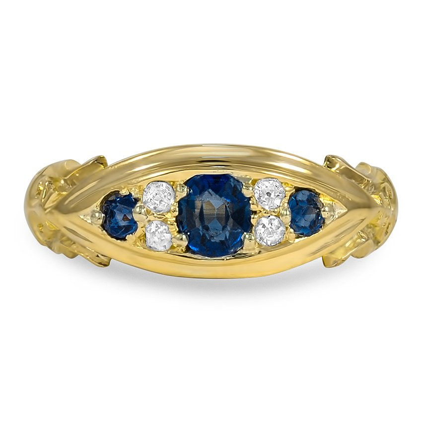 The Breana Ring, top view