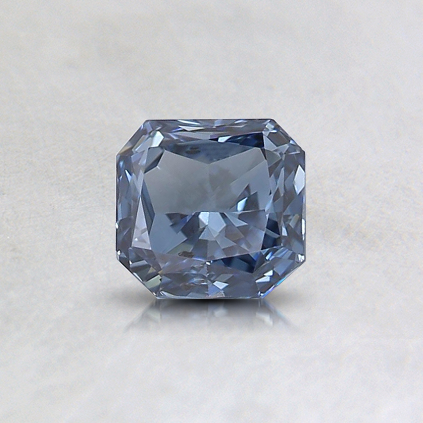 0.45 Ct. Fancy Intense Blue Cushion Lab Created Diamond