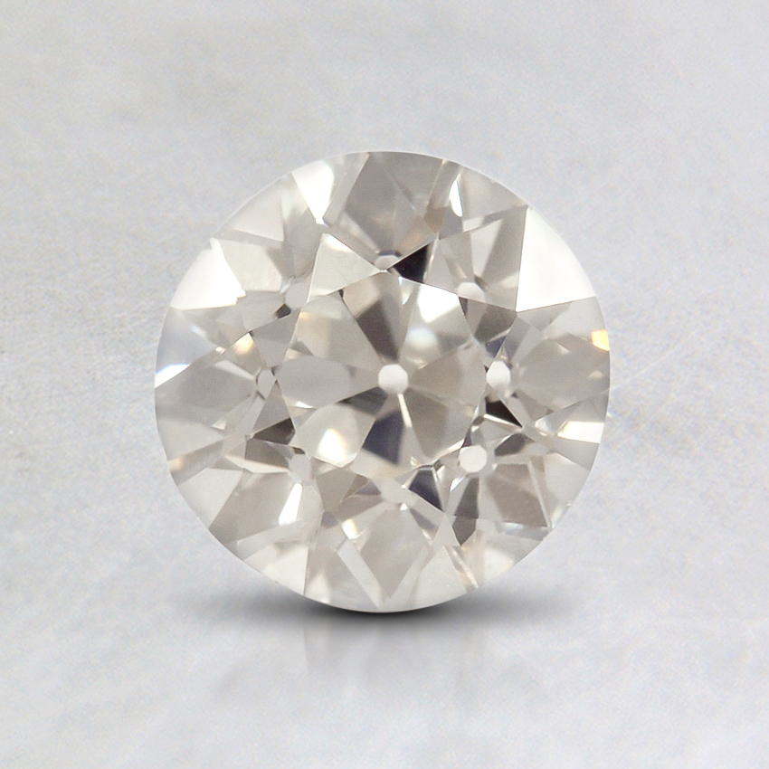 0.97 Carat, I Color, VS2 Clarity, Round Old European Cut Diamond