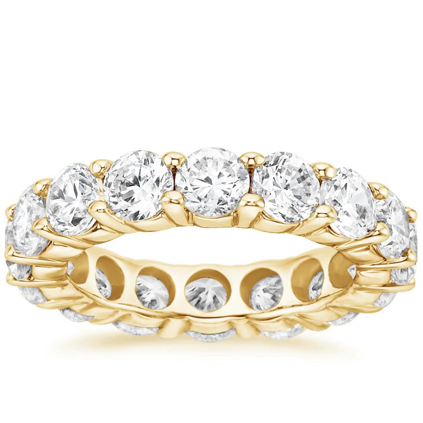 Yellow Gold Diamond Eternity Ring (5 ct. tw.)