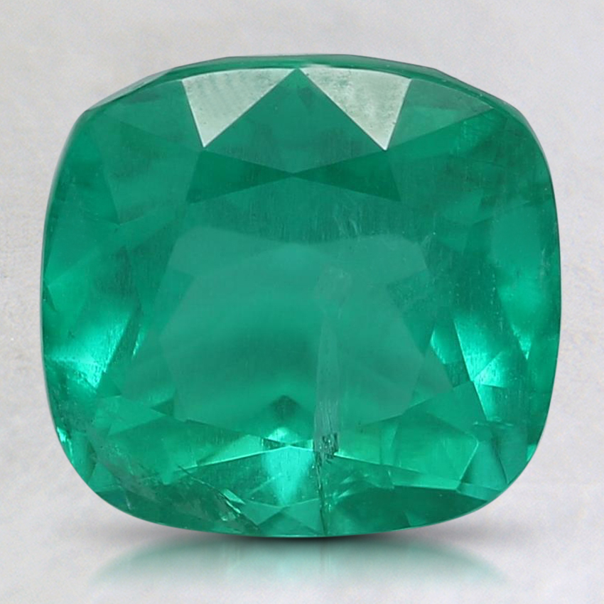 8.8x8.2mm Premium Cushion Emerald