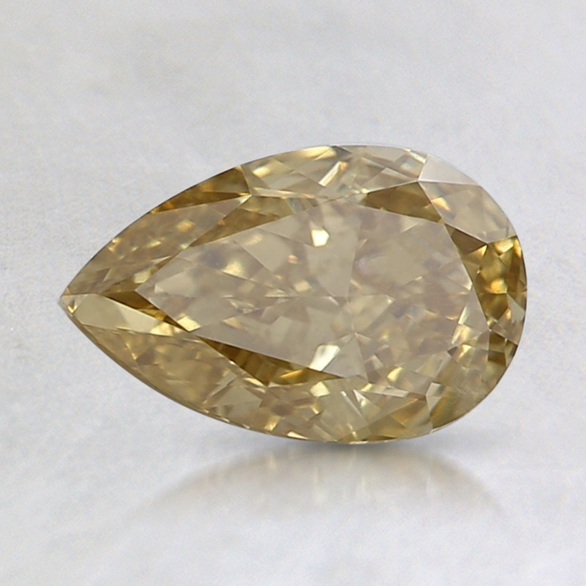 1.01 Ct. Fancy Brownish Yellow Pear Diamond