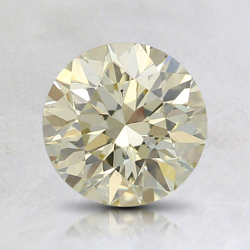 1.49 Ct. Fancy Light Yellow Round Diamond