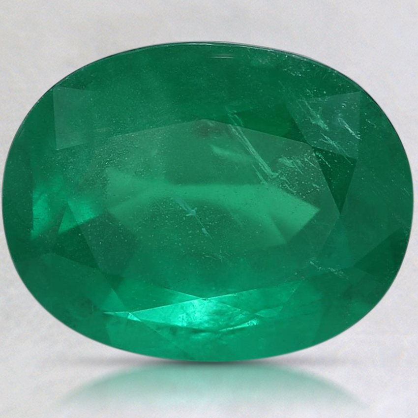 11.4x8.9mm Premium Oval Emerald