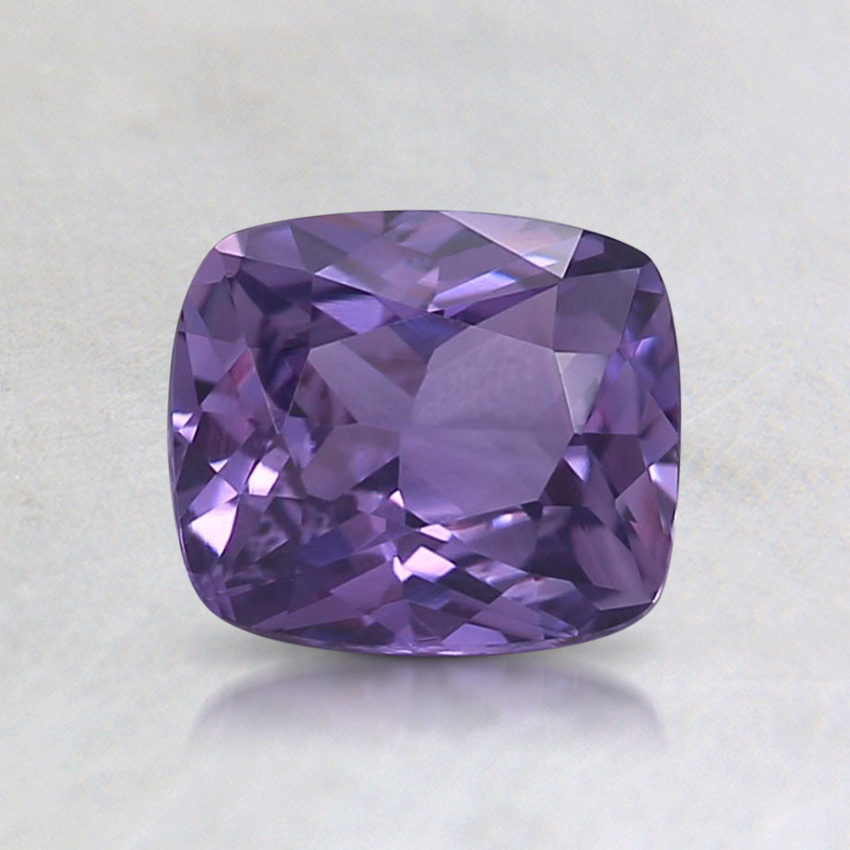 6.1x5.3mm Purple Cushion Sapphire