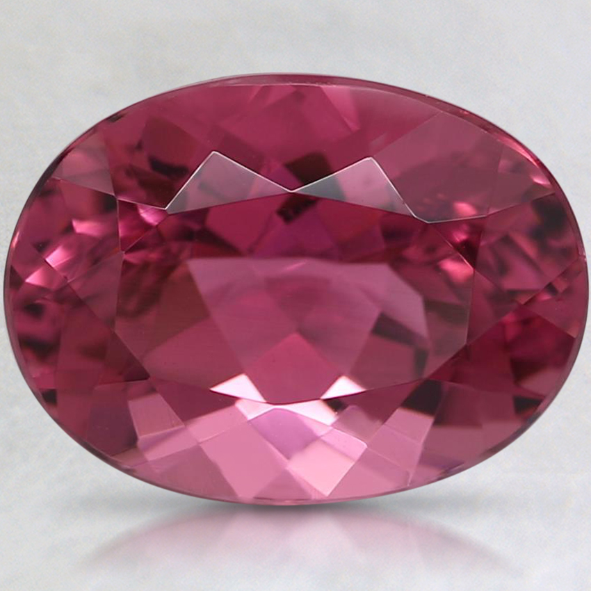 10.4x7.8mm Pink Oval Tourmaline