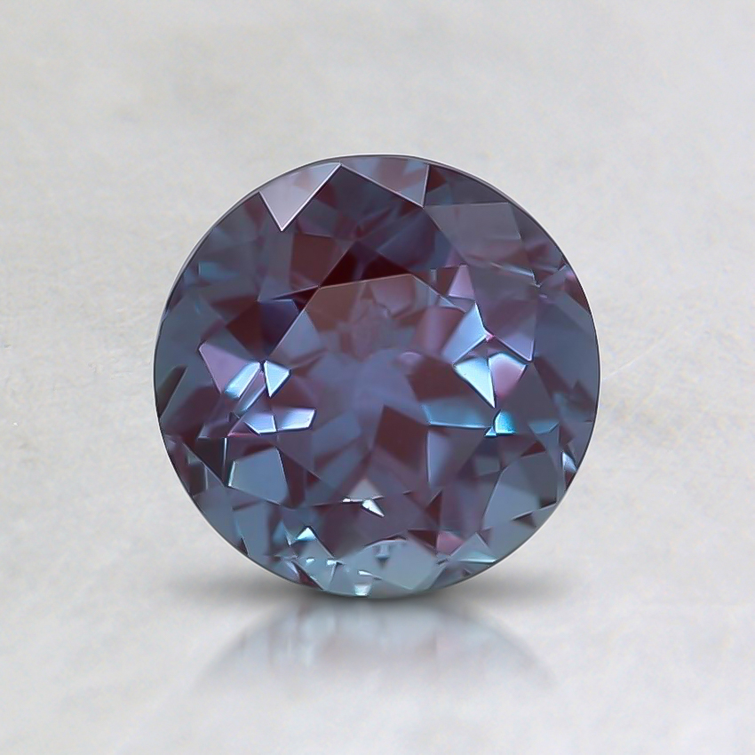 6mm Purple Round Lab Created Alexandrite