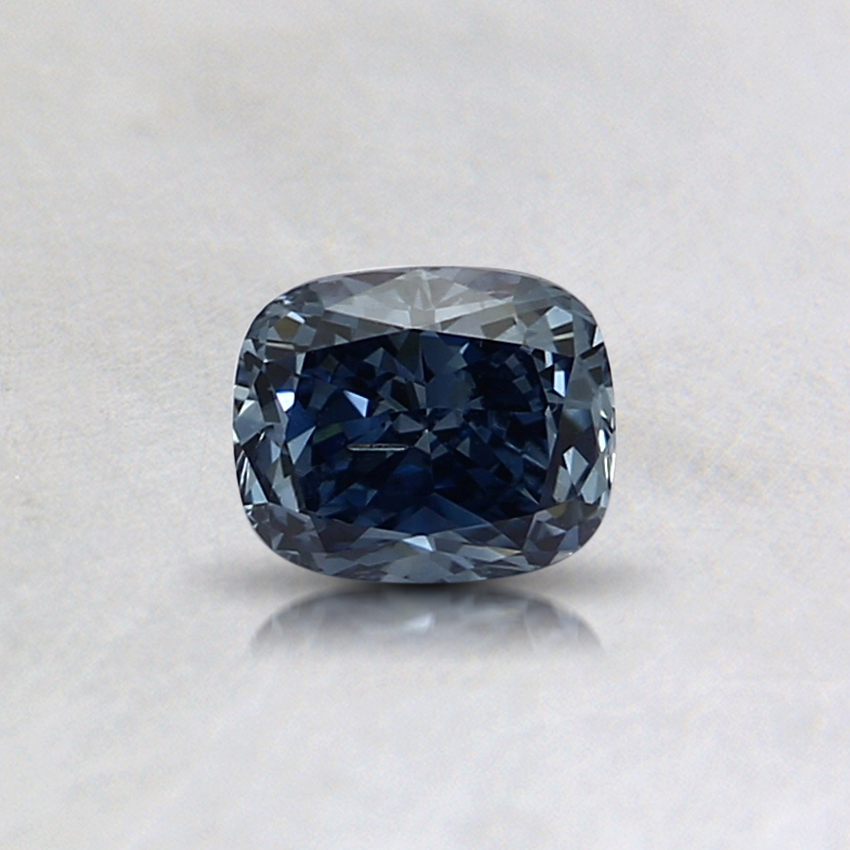 0.35 Ct. Fancy Blue Cushion Lab Created Diamond