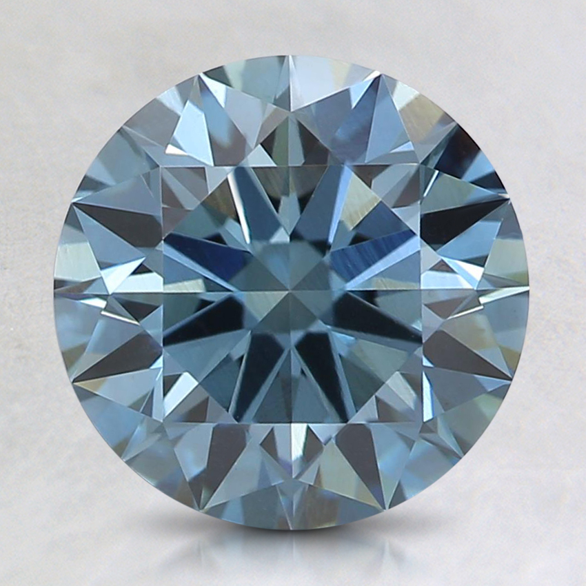 2.09 Ct. Fancy Deep Blue Round Lab Created Diamond