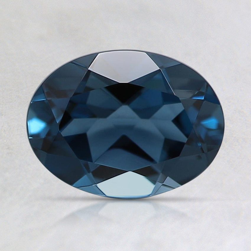 8x6mm London Blue Oval Topaz