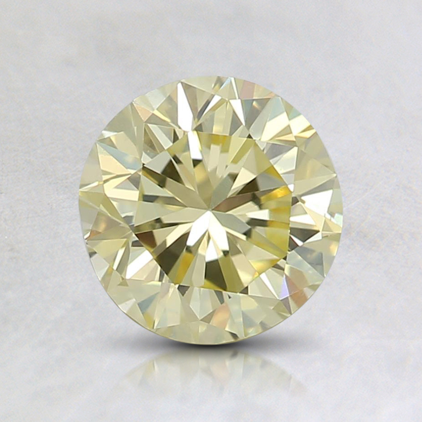 0.99 Ct. Fancy Yellow Round Diamond
