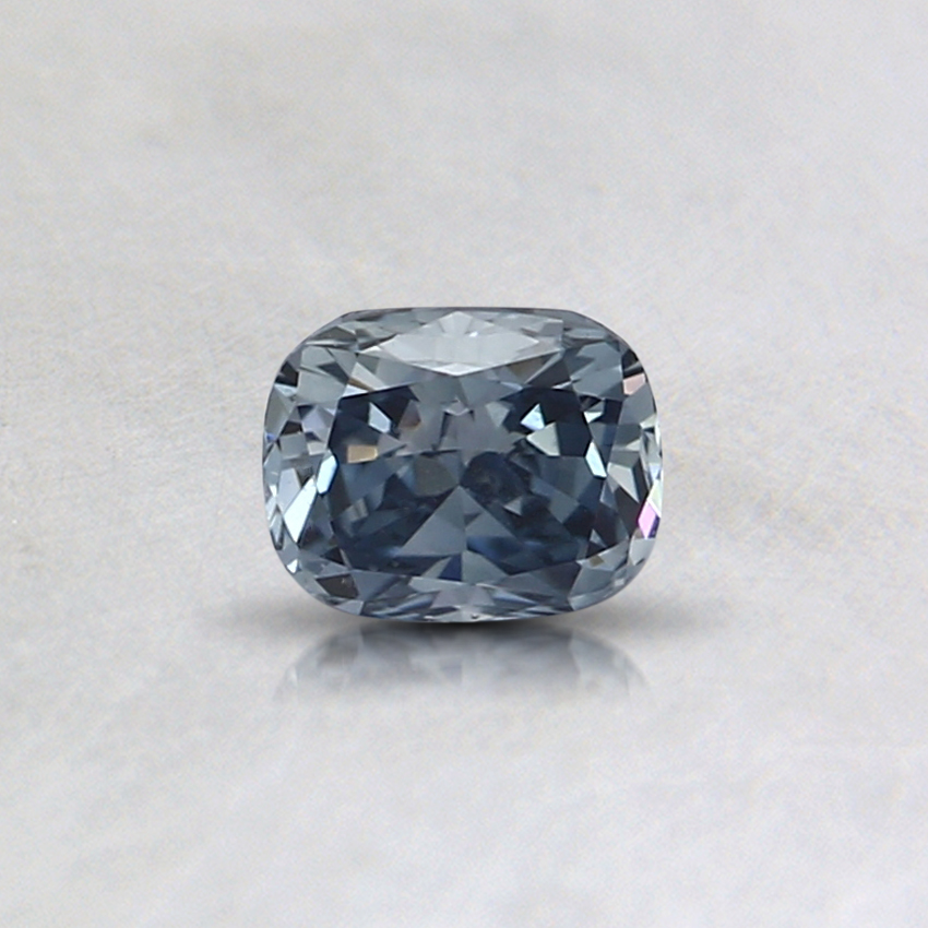0.34 Ct. Fancy Blue Cushion Lab Created Diamond