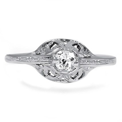 The Lila Ring, top view