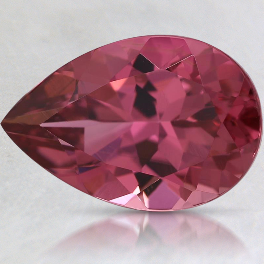 12.1x8.1mm Premium Pink Pear Tourmaline