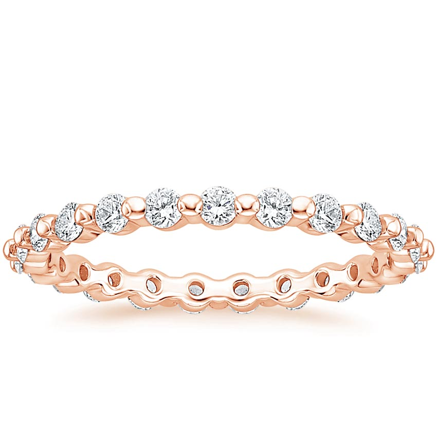 Rose Gold Marseille Eternity Diamond Ring (2/3 ct. tw.)