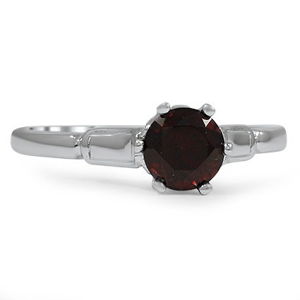 The Claudette Ring, top view