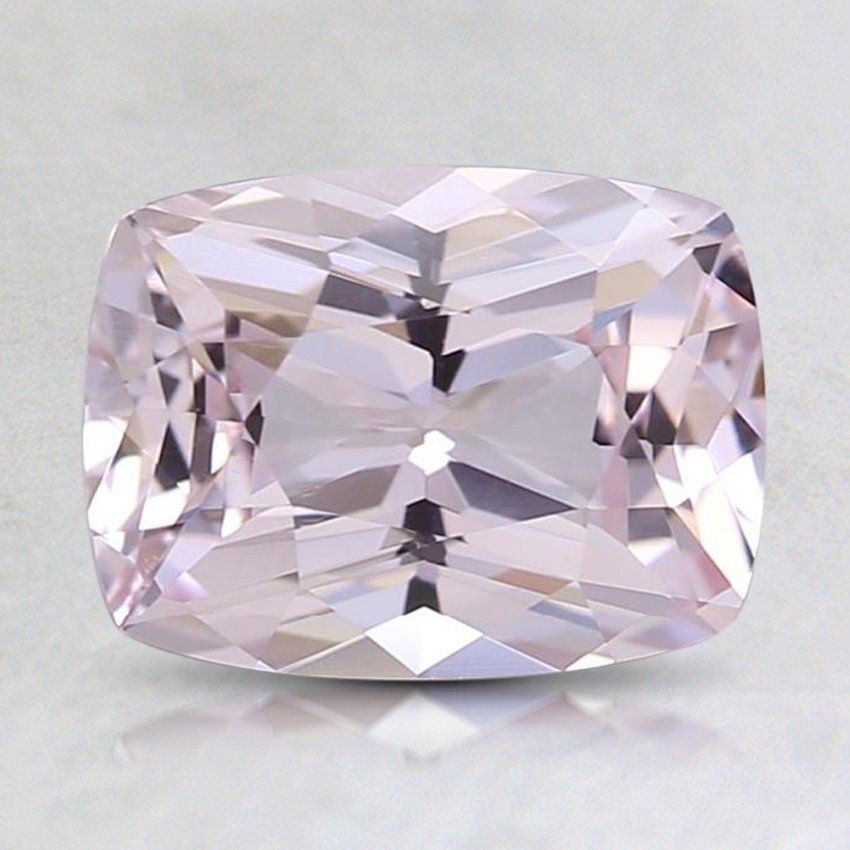 8.1x6.1mm Unheated Peach Cushion Sapphire