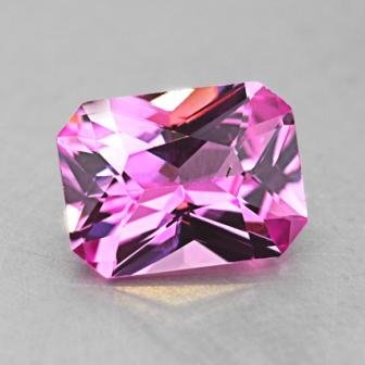 8x6mm Pink Radiant Sapphire
