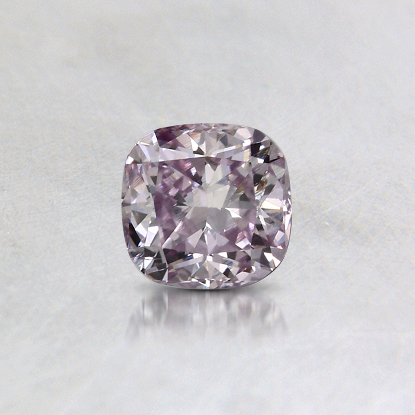 0.30 Ct. Fancy Pink-Purple Cushion Colored Diamond