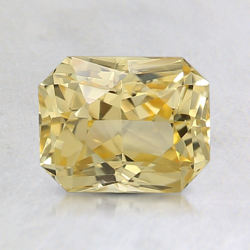 6.9x5.5mm Unheated Yellow Radiant Sapphire